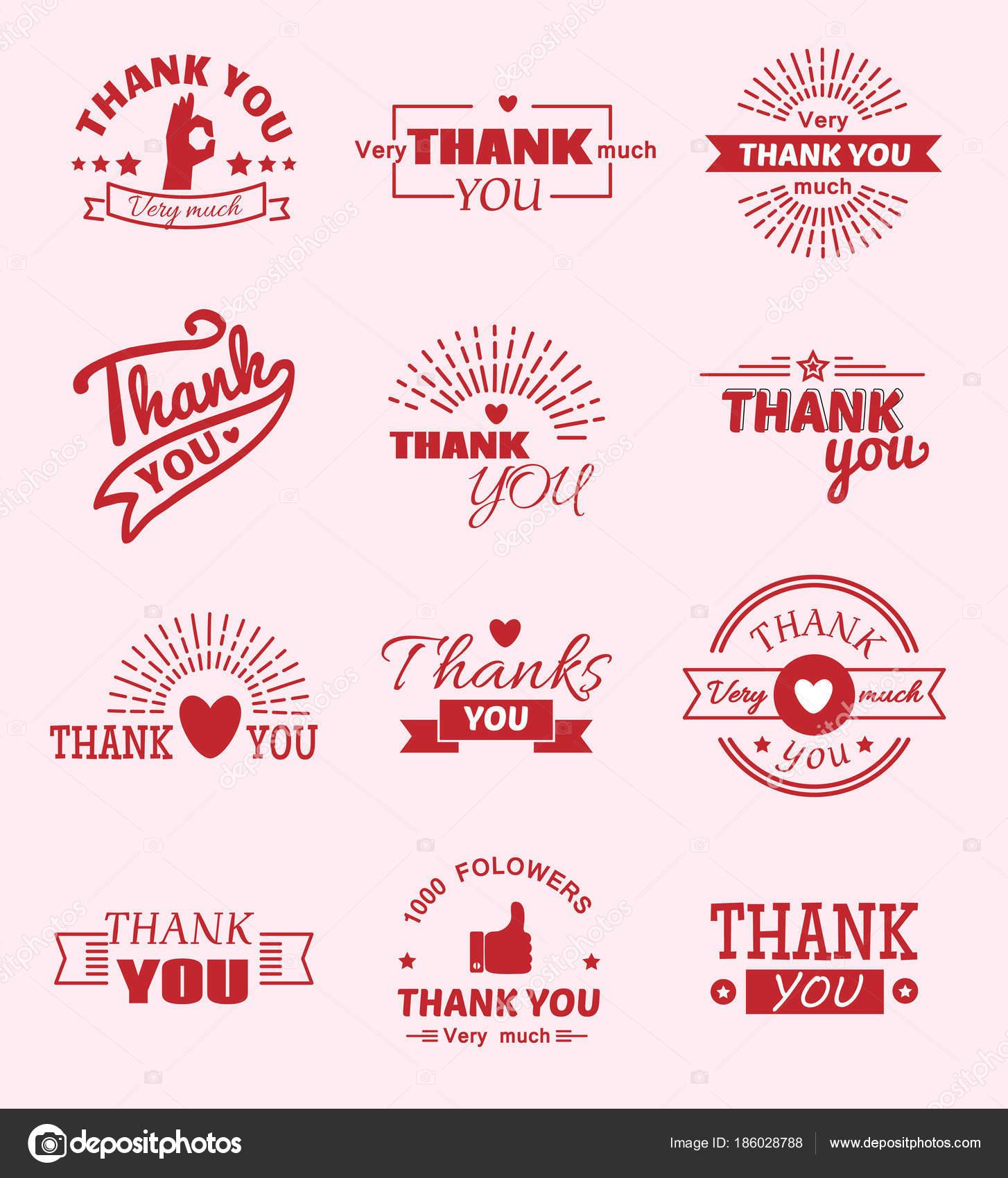 Merci Devis Slogan Citate Vecteur Sms émotions Sentiment