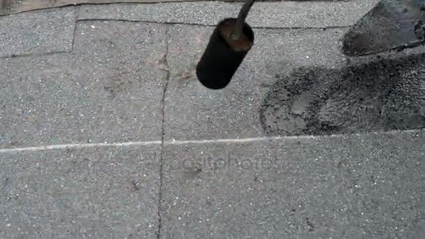 Plochá střecha opravu hydroizolace