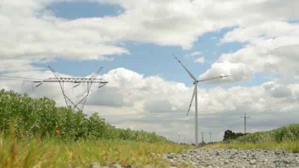 energia verde di turbina eolica