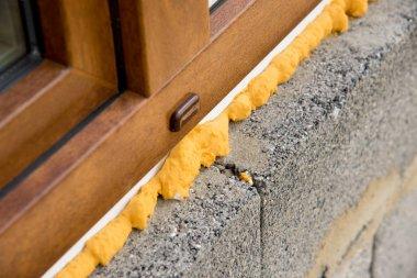 Construction mounting PU foam