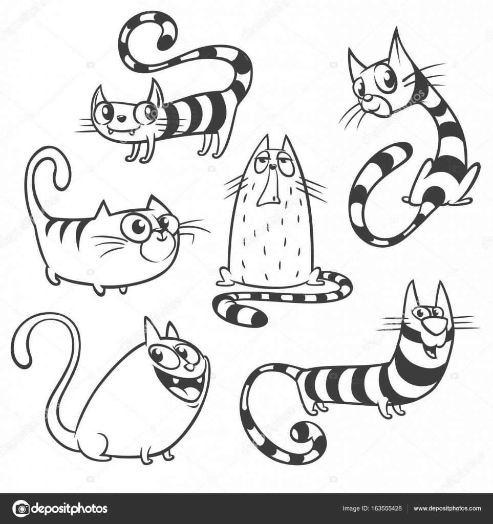 Dibujos Que Se Mueven Juego Juego De Gatos De Dibujos Animados