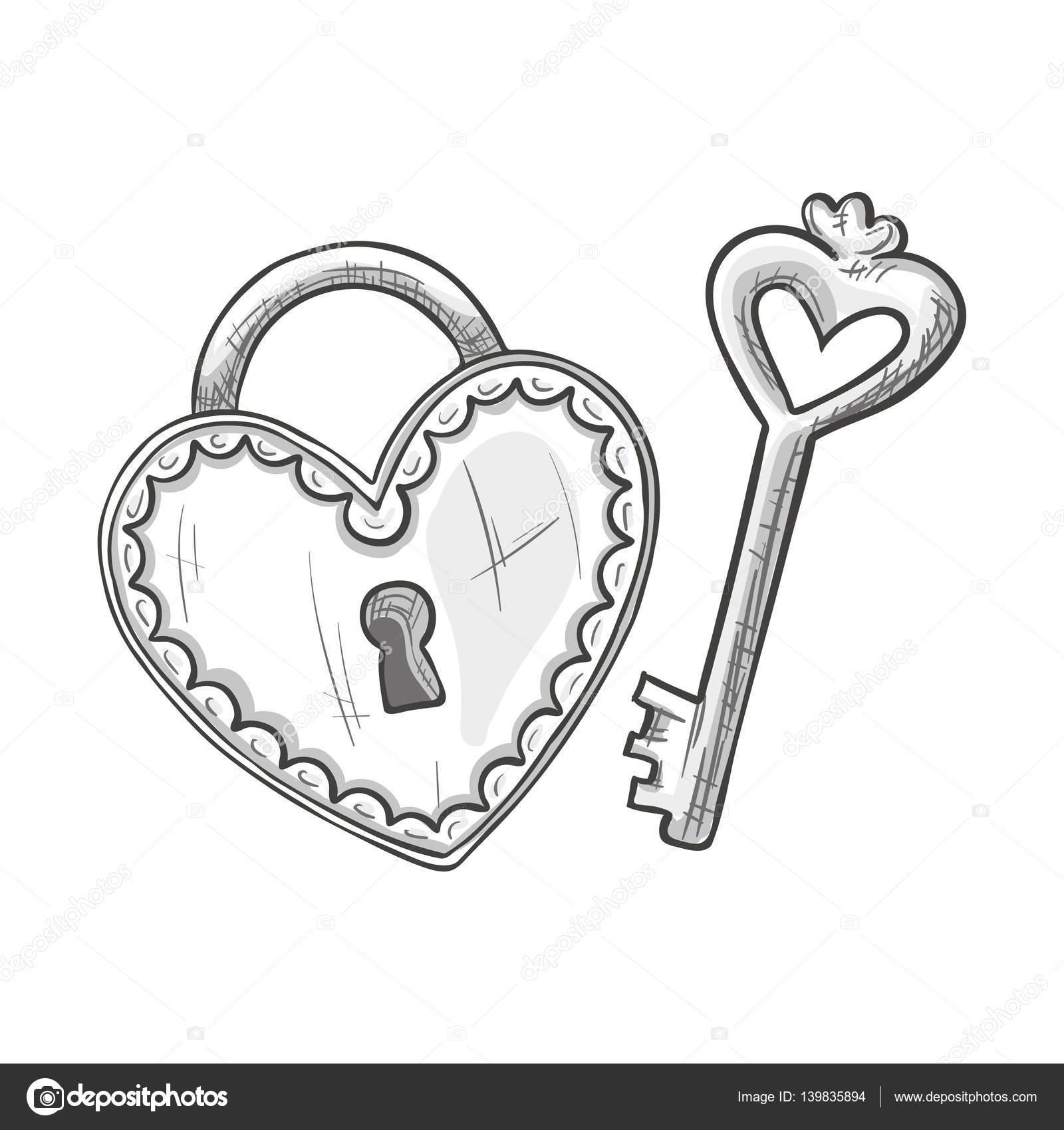 Schloss und Schlüssel von Nashville