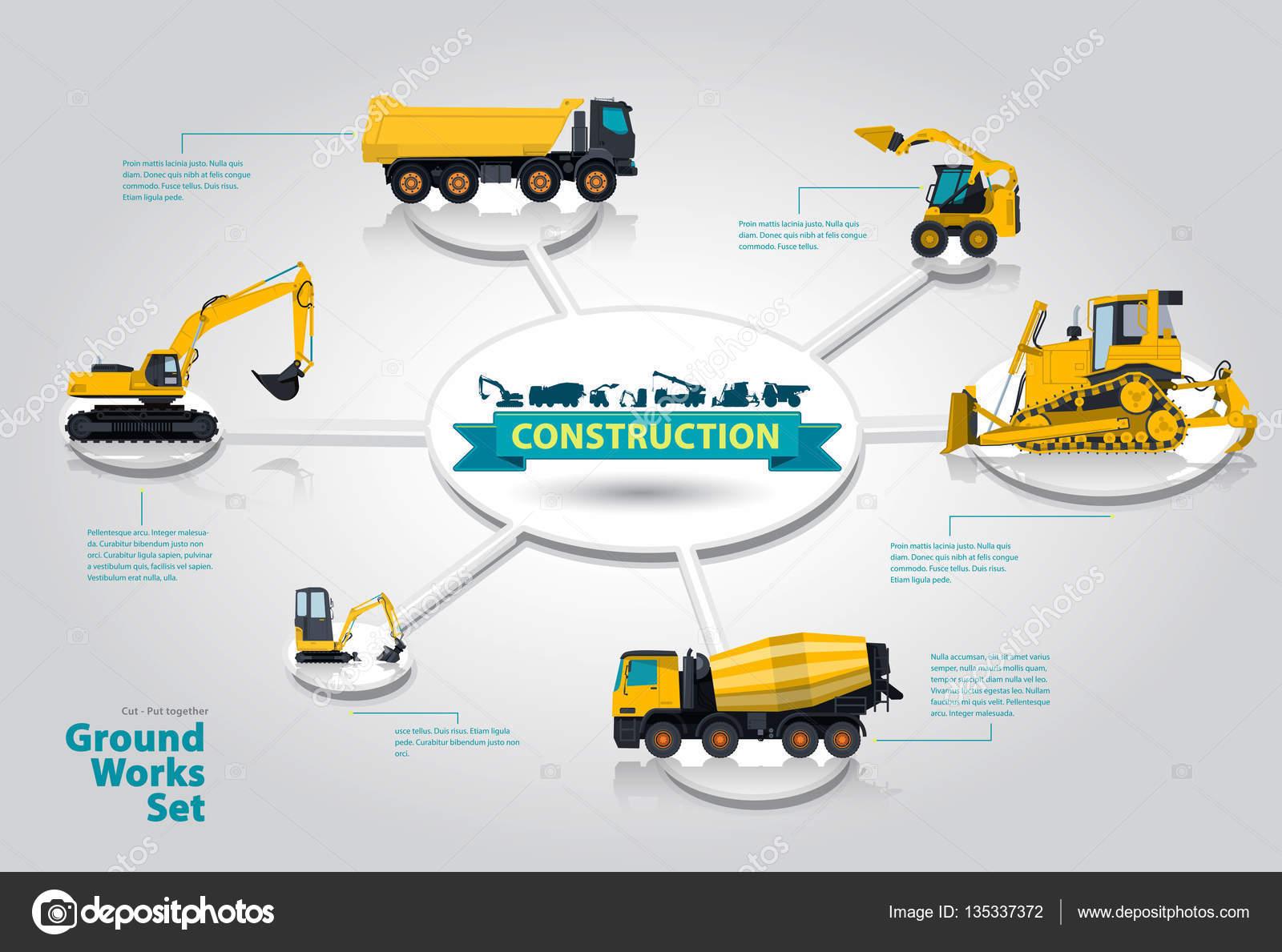 Macchinario di costruzione grafica isometrica macchinario for Programma di costruzione per la costruzione di una casa