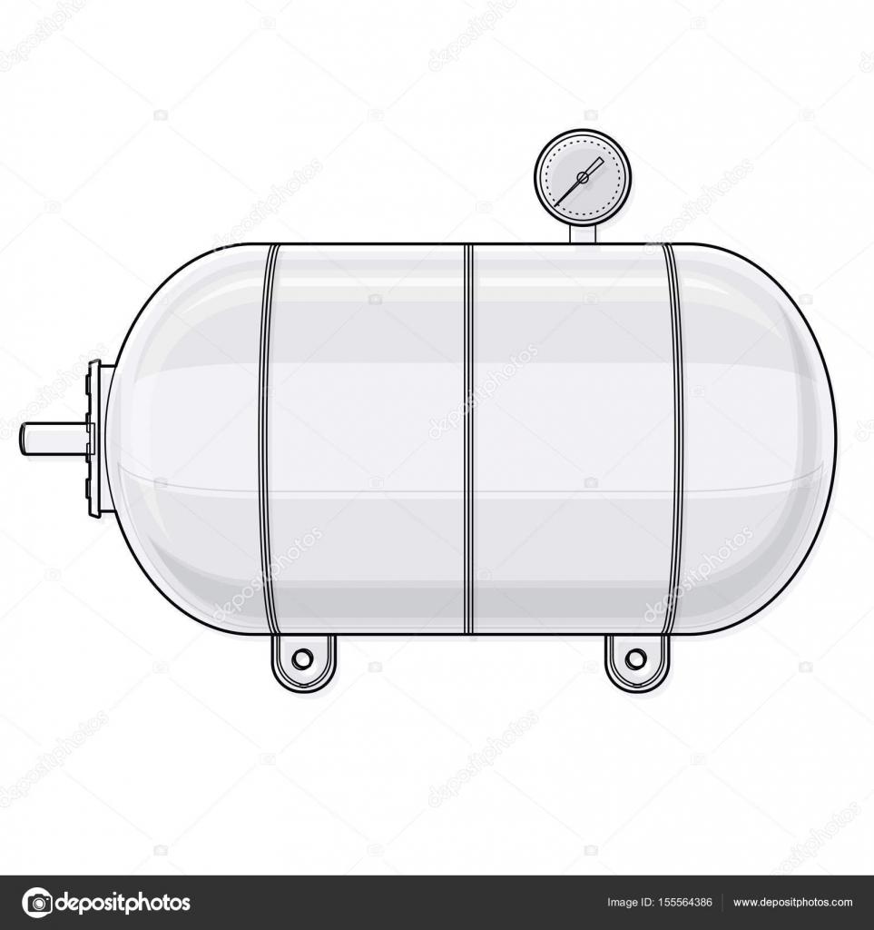 druckbehälter für wasser, gas, luft beschrieben. druckbehälter für