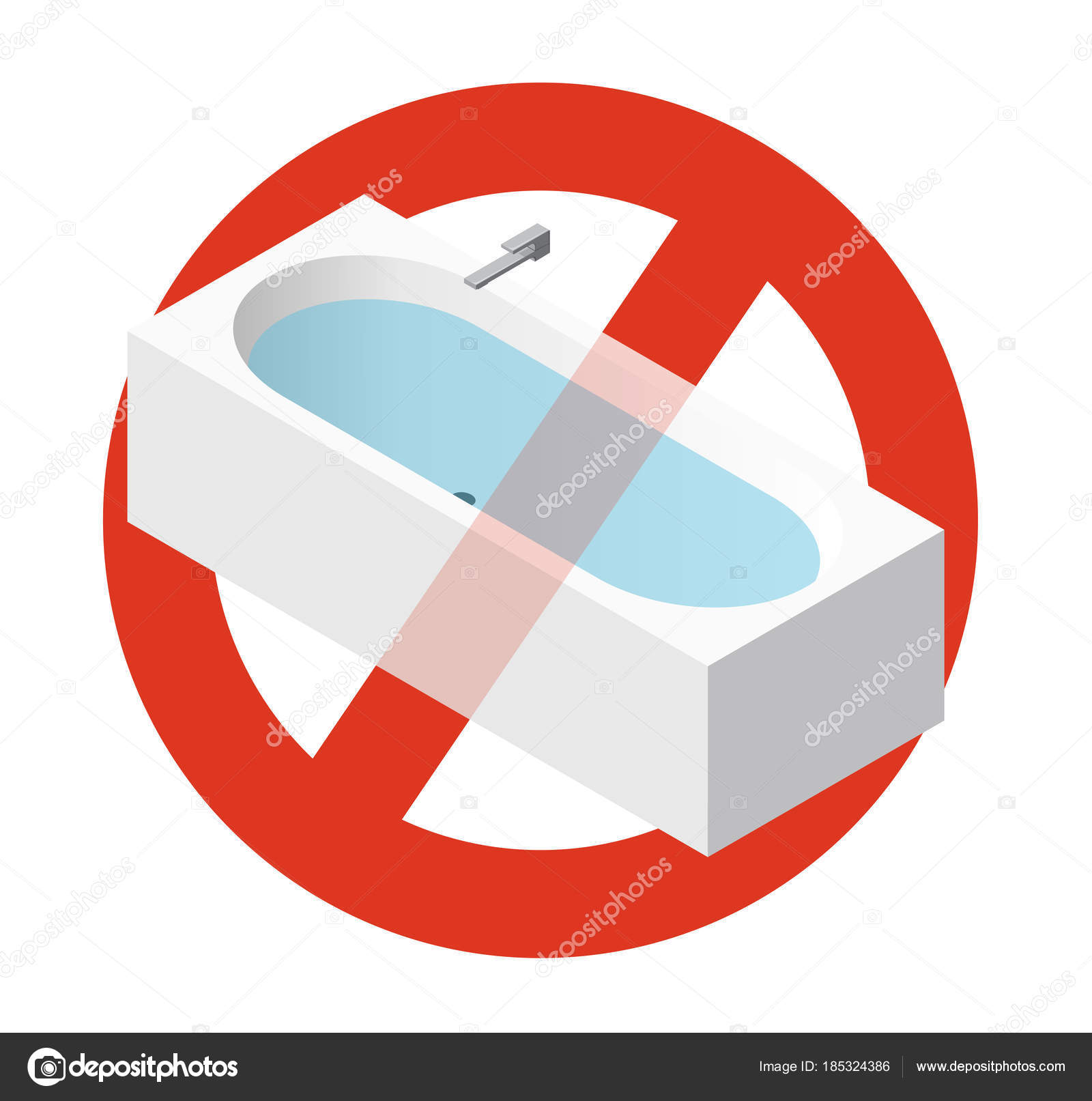Prohibition Bathtub Filled Water Strict Ban Constructing Bath Tub ...