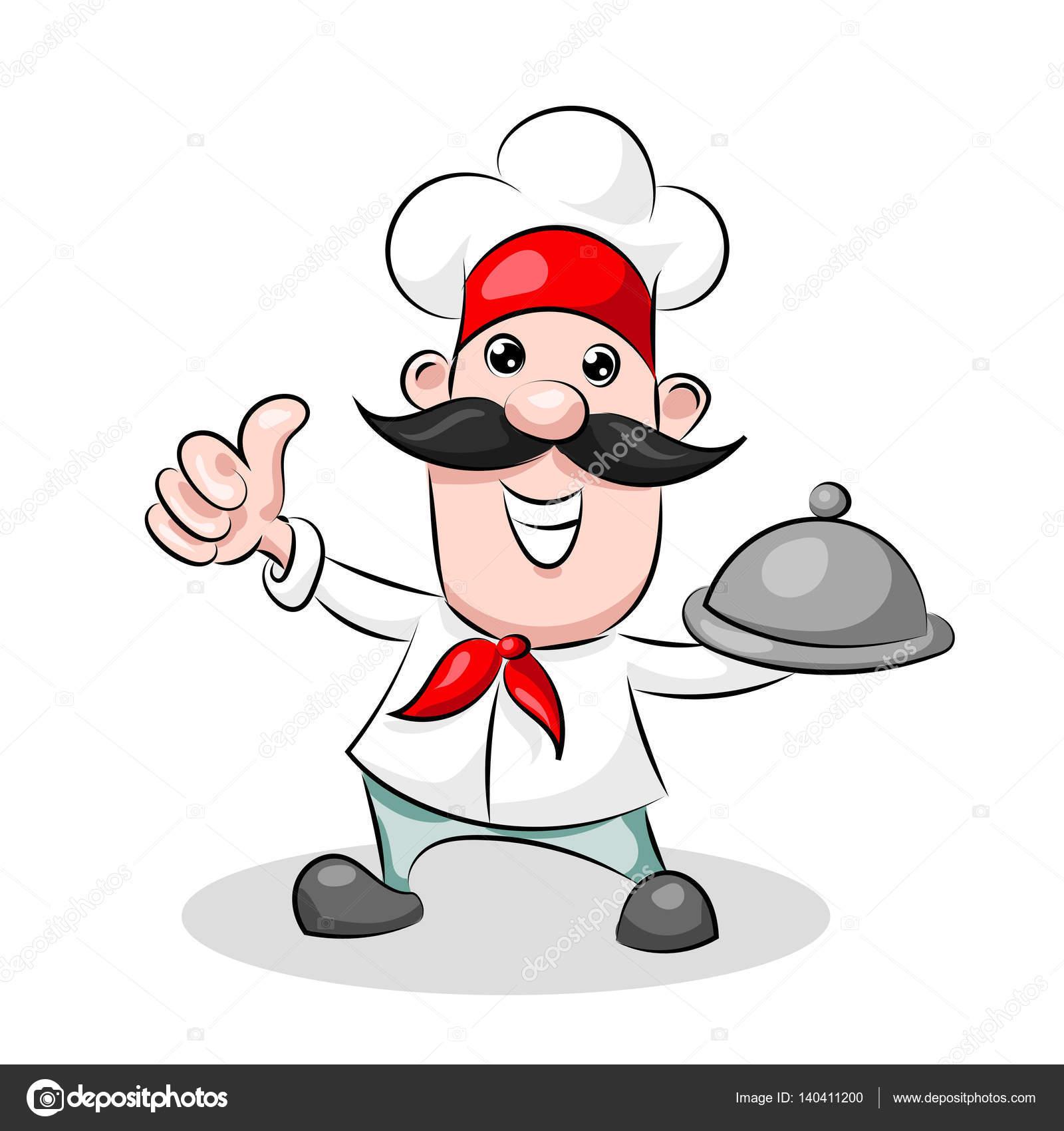 Dessin anim mignon dr le chef cuisinier dans la pac for Cuisinier 94 photos