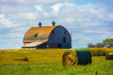 Barn and Hay
