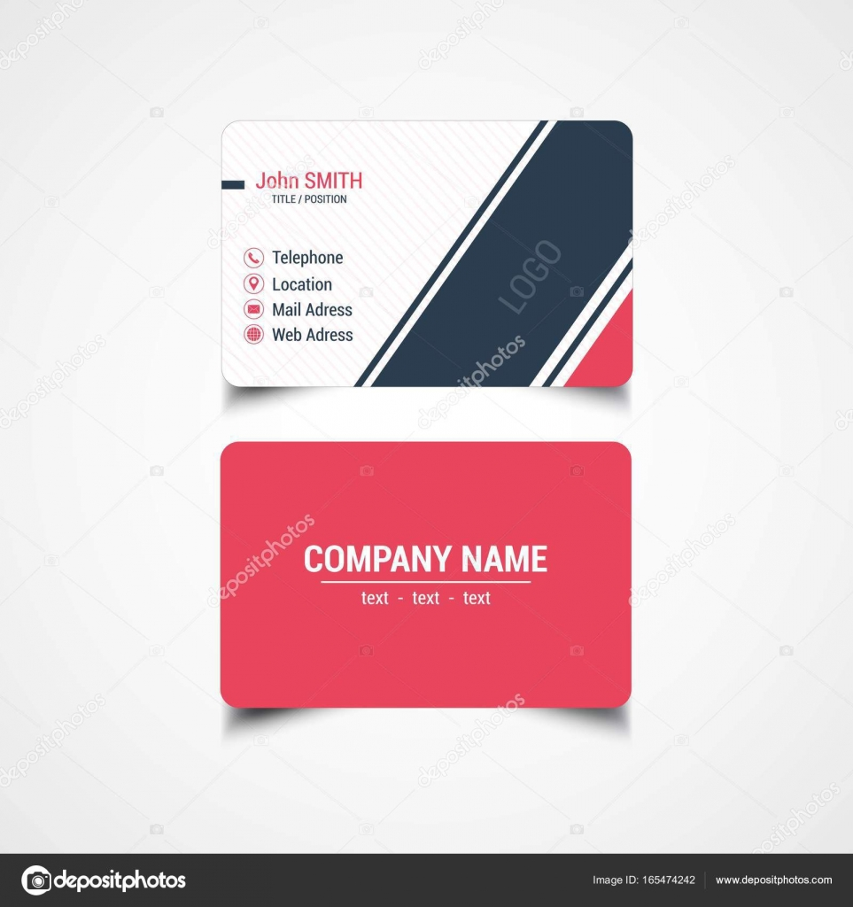 Round corner business card template stock vector sumertaner round corner business card template stock vector cheaphphosting Gallery