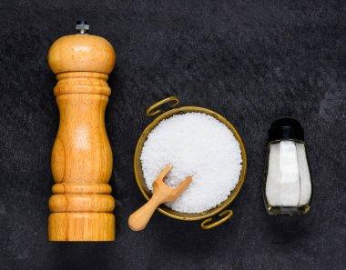 Top View of Salt