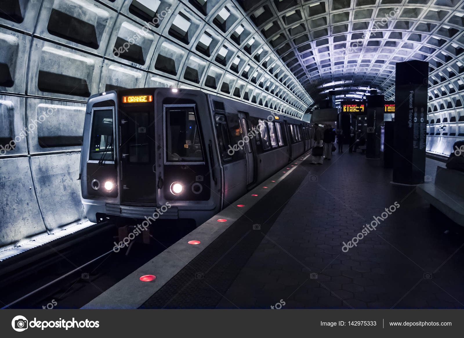Washington D C  Metro – Stock Editorial Photo