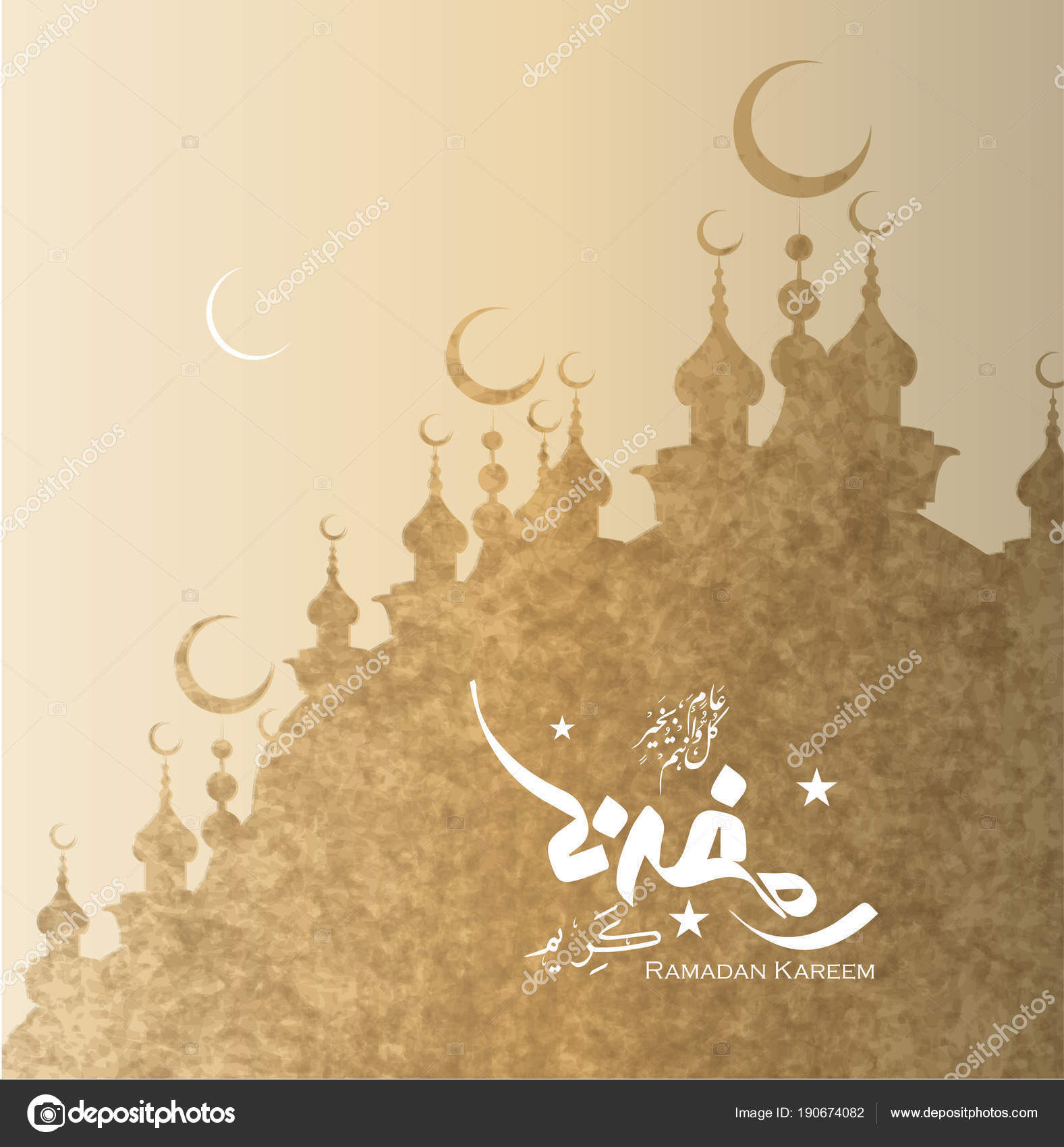 Ramadan kareem mubarak greeting cards arabic calligraphy translation ramadan kareem mubarak greeting cards arabic calligraphy translation generous ramadhan stock vector m4hsunfo