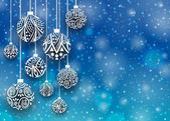 Merry christmas ball pozadí