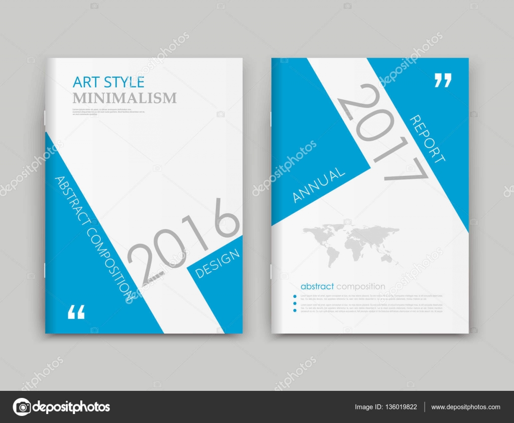 project front page design