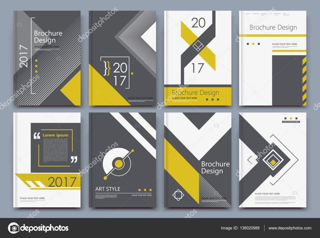 Composición abstracta. Diseño de cubierta de folleto a4 blanco ...