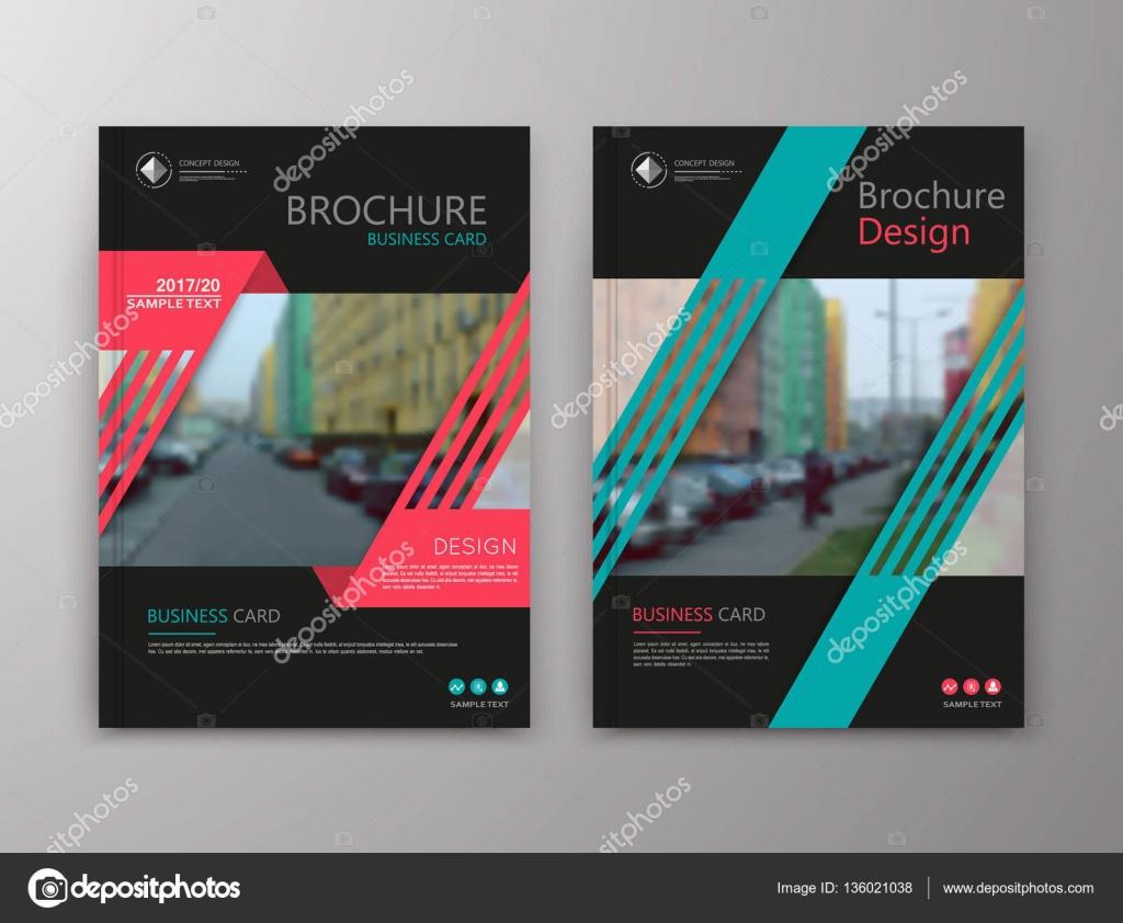 Abstrakte a4 Broschüre Cover-Design. Info-Banner-Textrahmen ...