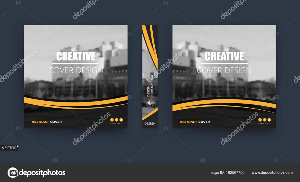 Plantilla. Diseño de cubierta de folleto de Techno. Marco de banner ...