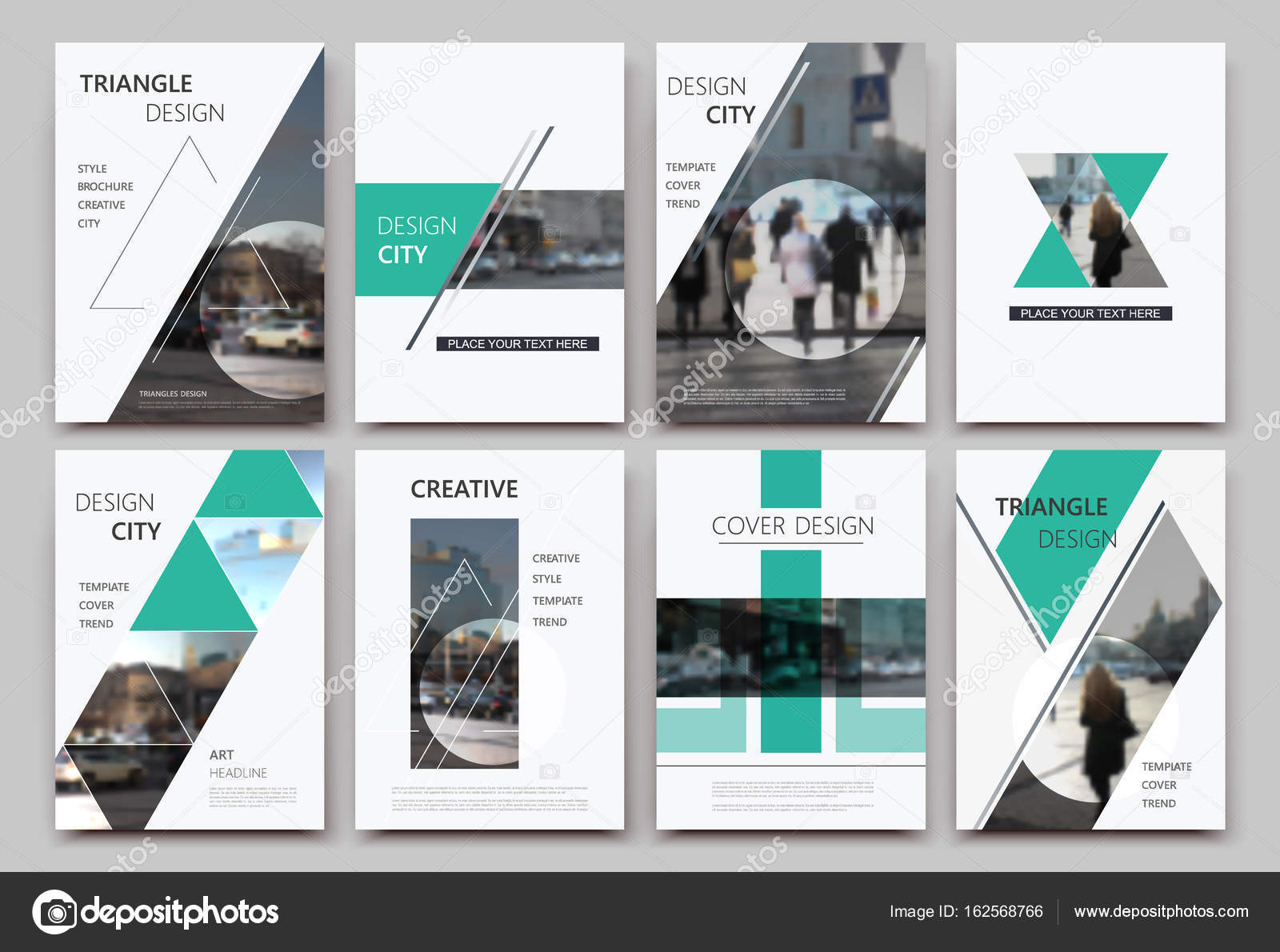 A4 Brochure Cover Design Templates For Flyer Ad Text Font Info