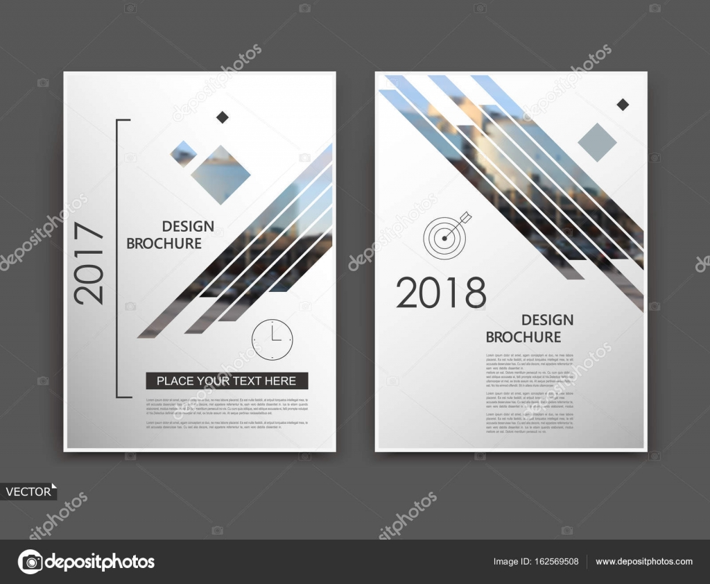 blurb indesign template - abstract blurb white brochure cover design fancy info