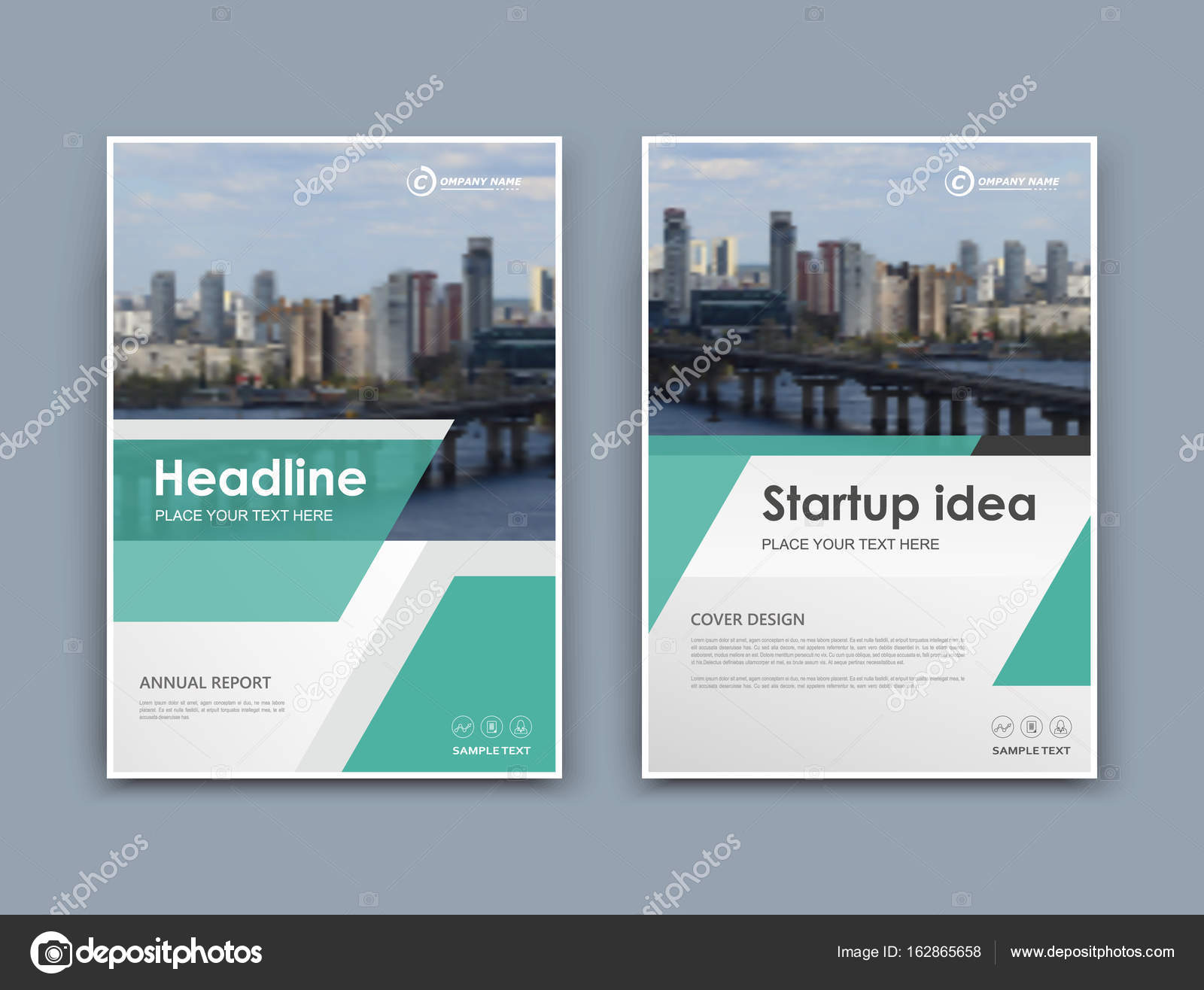 Abstract a4 brochure cover design. Template for banner, business ...