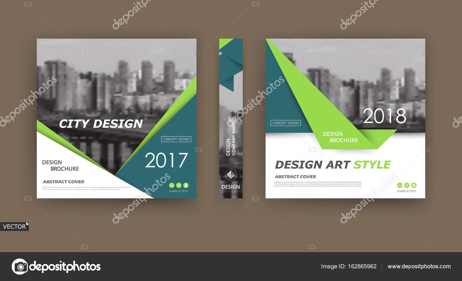 A4 Prospekt Cover Design Vorlage Für Infobanner
