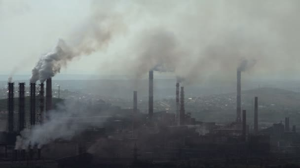 Kontaminace prostředí škodlivé emise průmyslových Enterprises.taymlaps