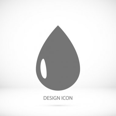 black drop icon