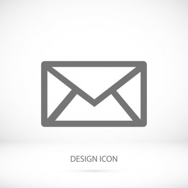outline envelope icon
