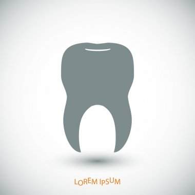 simple tooth icon