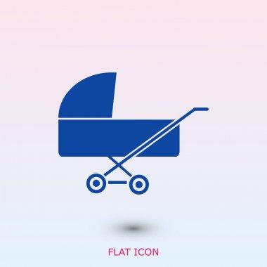 simple pram icon