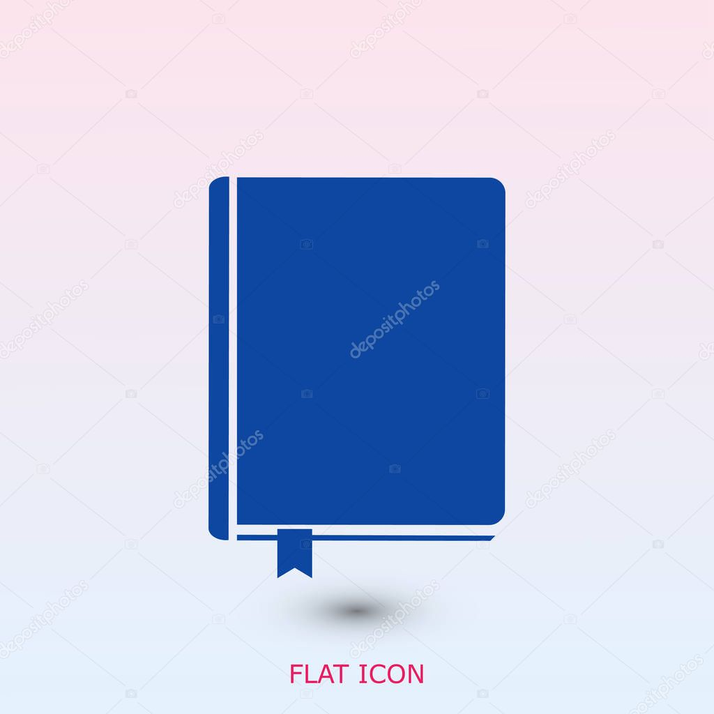 closed book icon — Stock Vector © SimVA #129837272