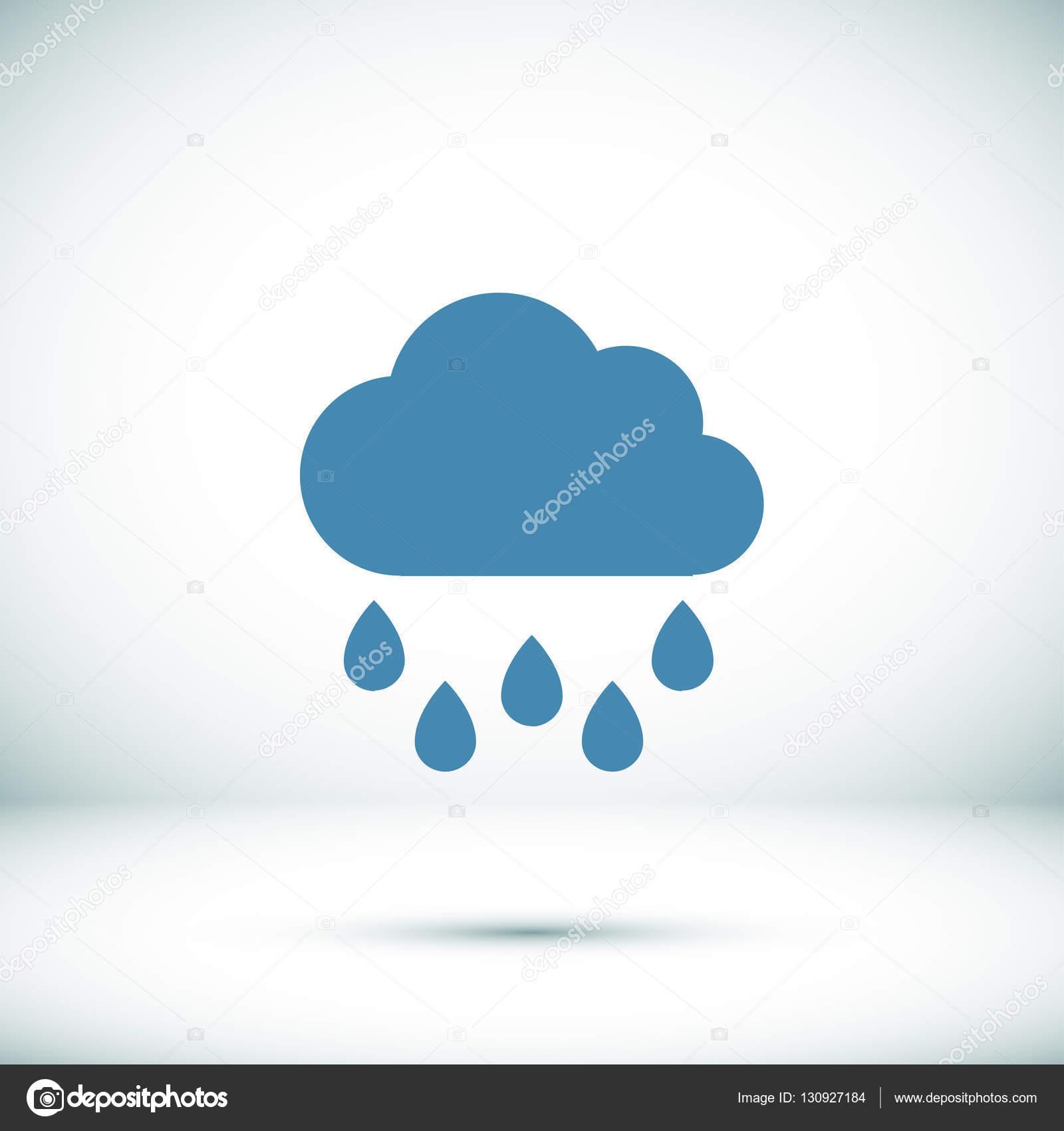 ic244ne m233t233o raincloud � image vectorielle simva 169 130927184