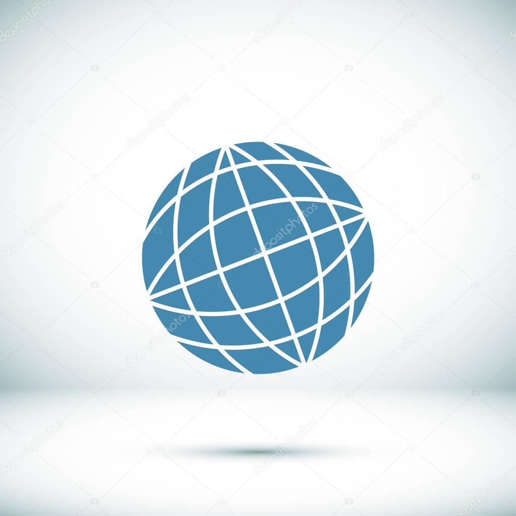globe symbol icon