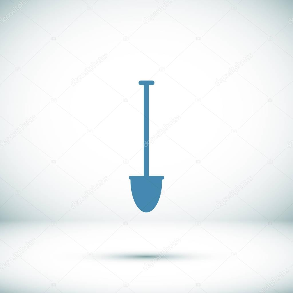 shovel tool icon