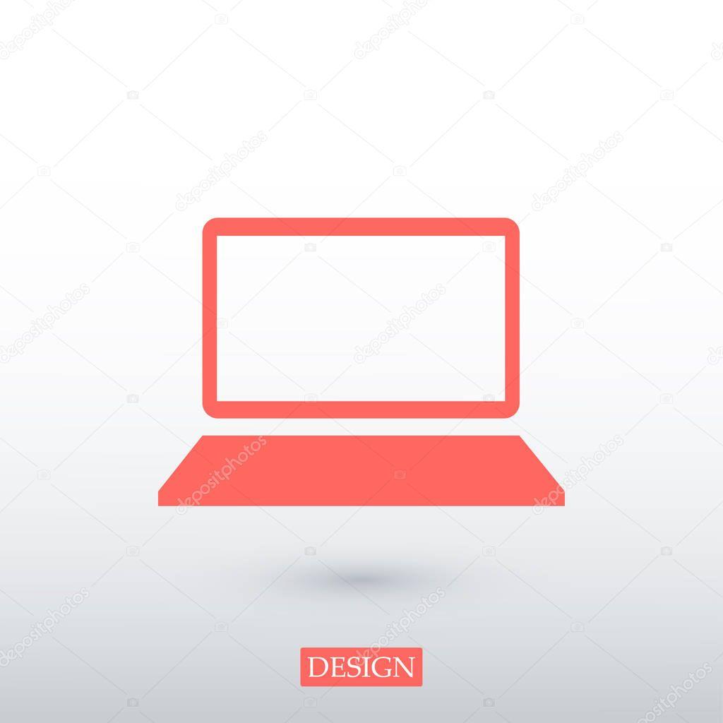 laptop technology icon