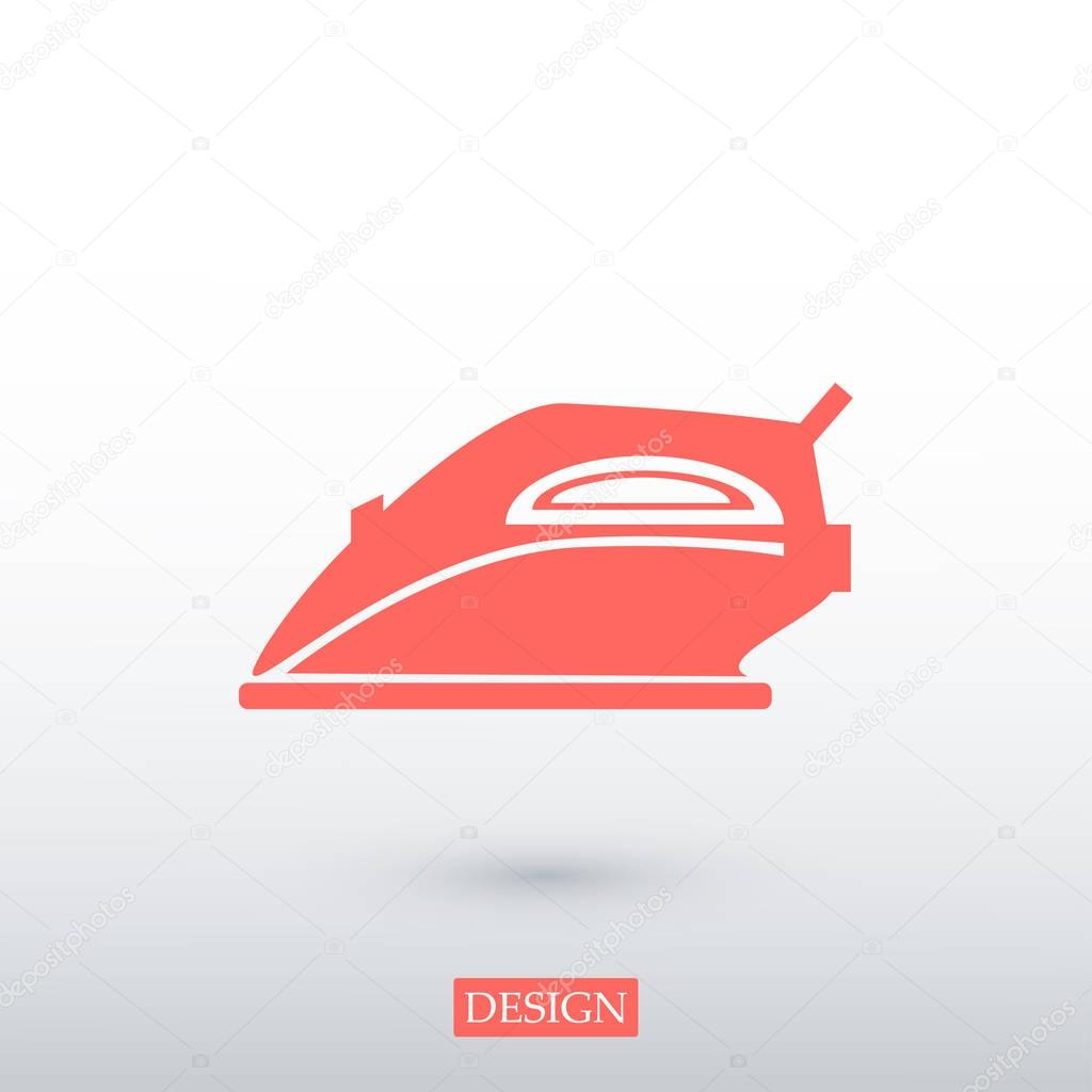Iron tool icon