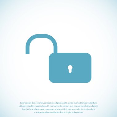 Lock on icon