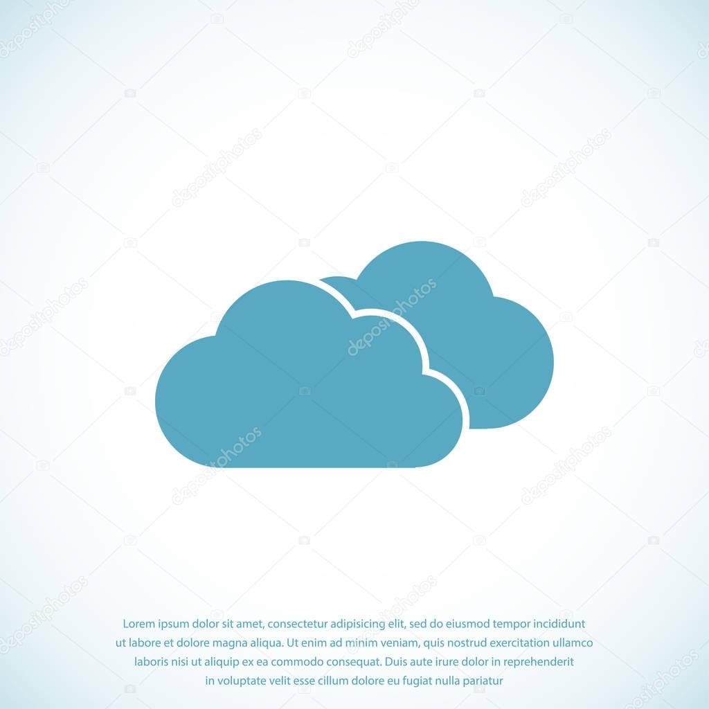 weather clouds icon