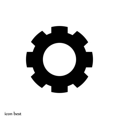 gear simple icon