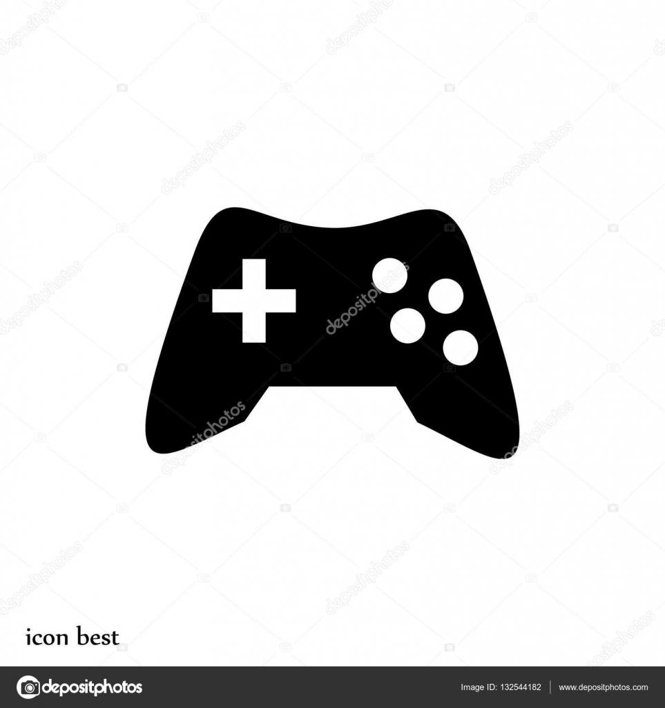 Game Controller Symbol Stockvektor Simva 132544182