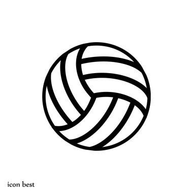 valleyball ball icon