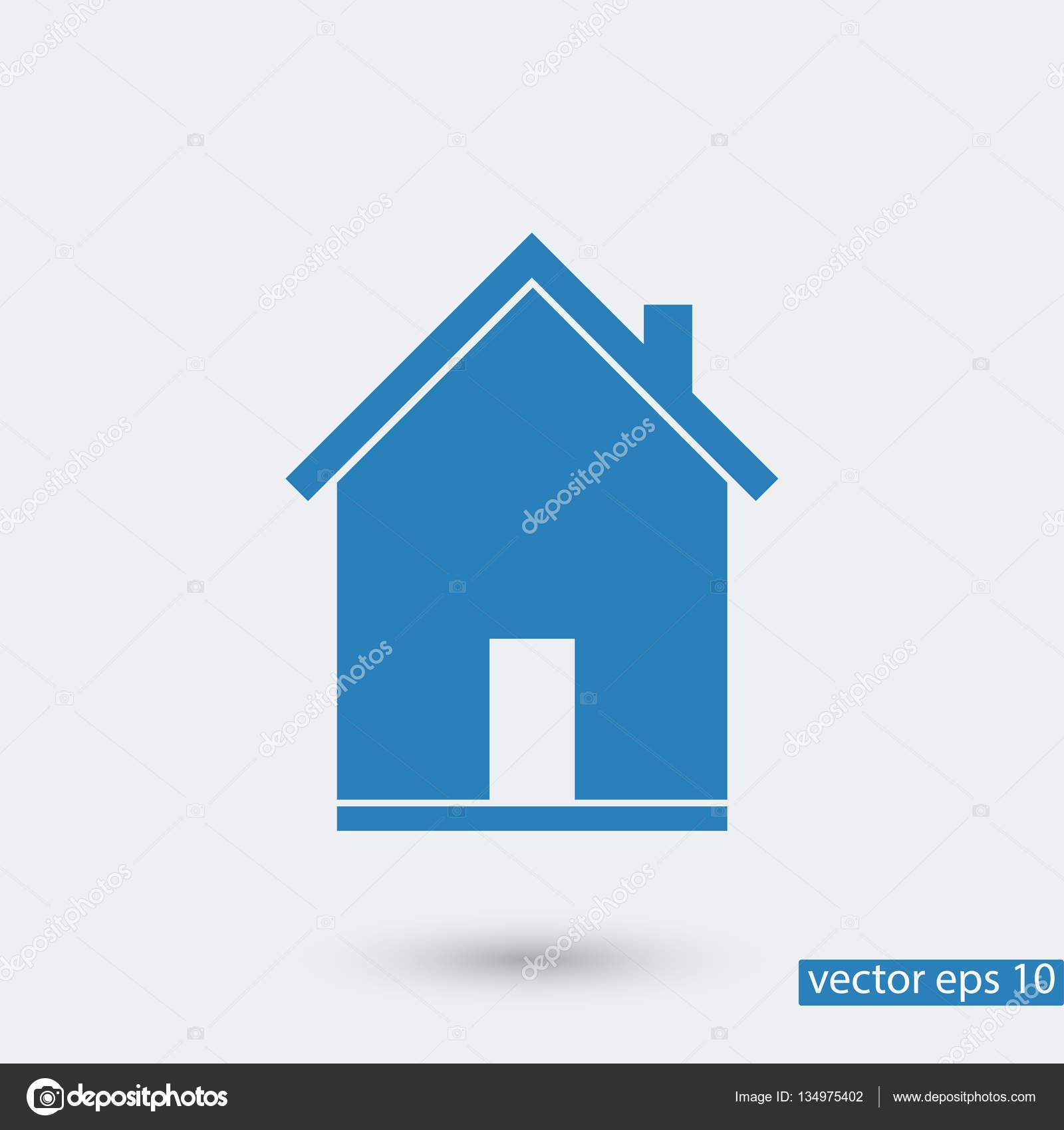 home simple icon — Stock Vector © SimVA #134975402