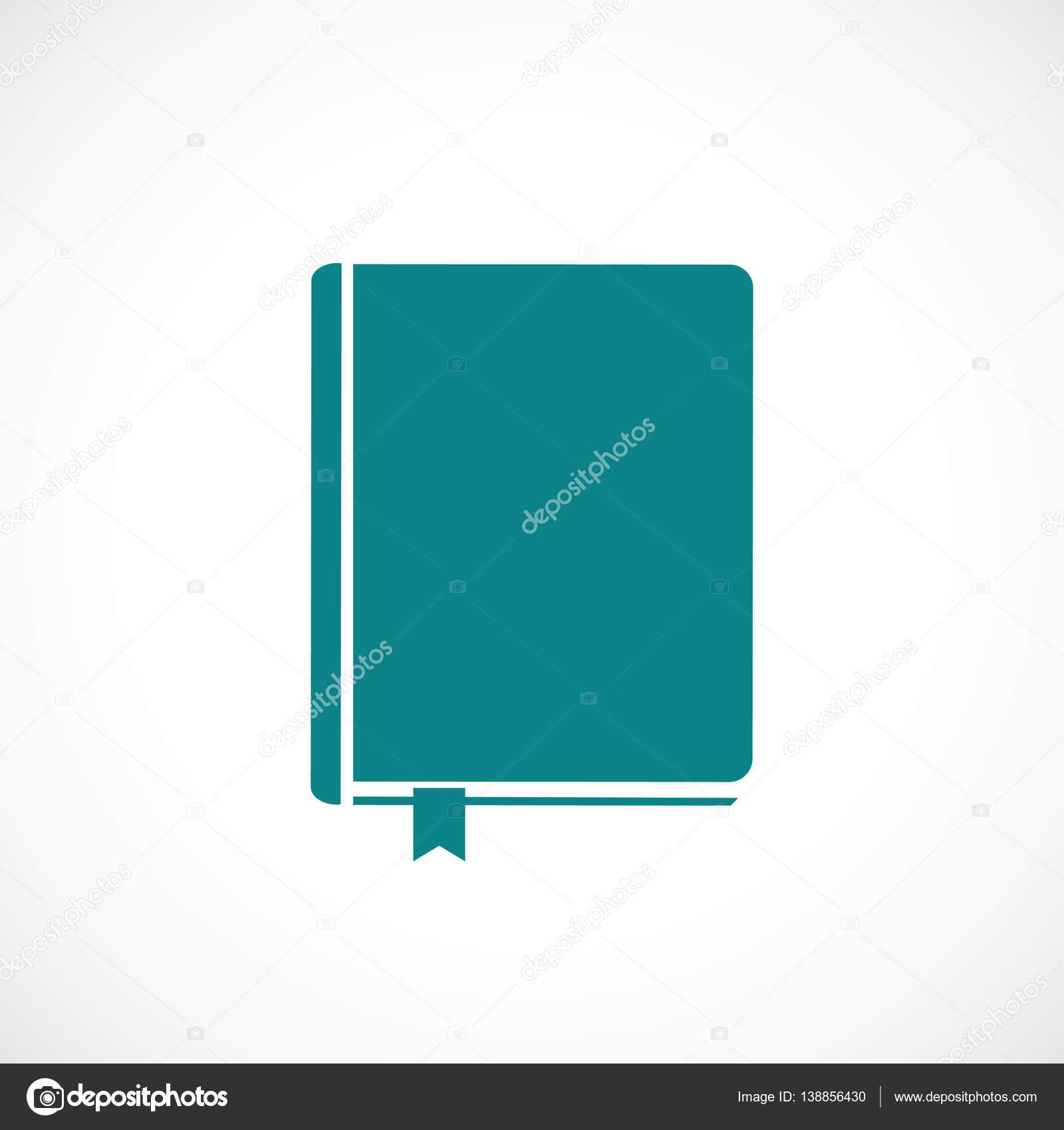 Icone Representant Un Livre Blanc Image Vectorielle Simva
