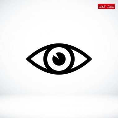 eye simple icon