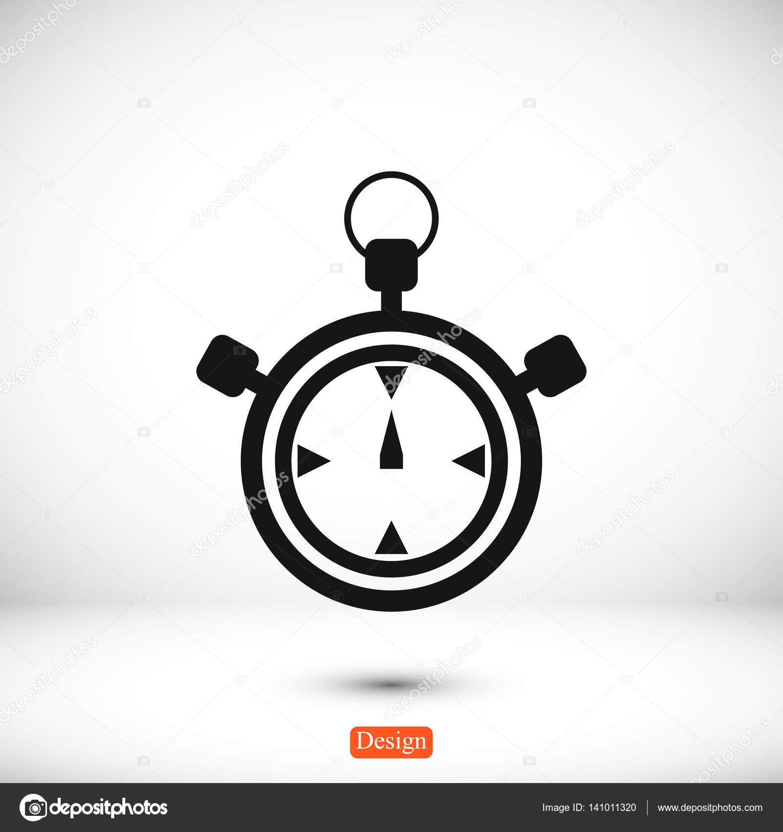 a0ab17af187 Ícone de cronômetro simples — Vetores de Stock © SimVA  141011320