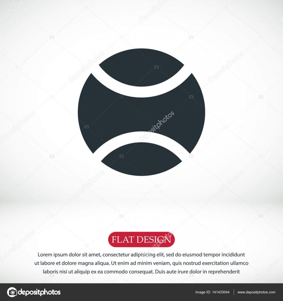 Tenis pelota stock de ilustracion ilustracion libre de stock de - Icono De Pelota De Tenis Vector De Stock 141433044 Vector Ilustraci N
