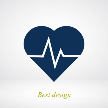heartbeat flat icon