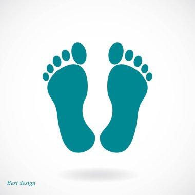human feet icon