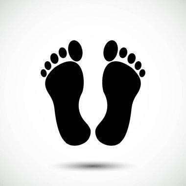 footprint card icon