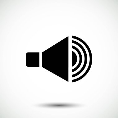 speaker button icon