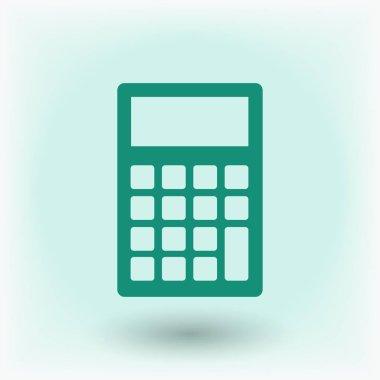 calculator sign icon